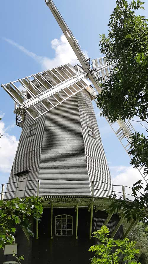 the windmill at shipley, sussex