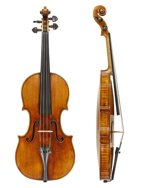 amici stradivarius front and side